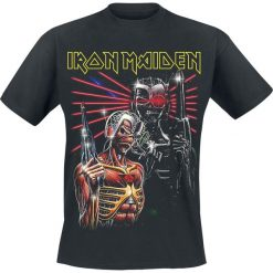 Iron Maiden Terminate T-Shirt czarny. Czarne t-shirty męskie z nadrukiem Iron Maiden, xl, z okrągłym kołnierzem. Za 74,90 zł.
