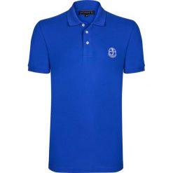 """Koszulki polo: Koszulka polo """"Links"""" w kolorze niebieskim"""