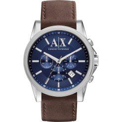 Armani Exchange Zegarek chronograficzny dunkelbraun. Czarne zegarki męskie marki Armani Exchange, l, z materiału, z kapturem. Za 799,00 zł.