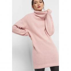 Długi sweter z golfem. Brązowe golfy damskie marki Orsay, xs, z dzianiny, z długim rękawem. Za 99,99 zł.