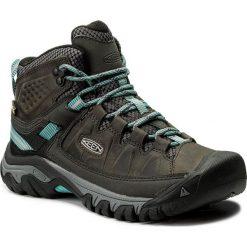 Buty trekkingowe damskie: Trekkingi KEEN - Targhee III Mid Wp 1018159 Alcatraz/Blue Torquioise
