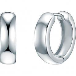 Srebrne kolczyki-kreole. Szare kolczyki damskie Stylowa biżuteria, srebrne. W wyprzedaży za 152,95 zł.