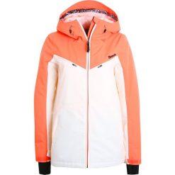 Bench BOLD Kurtka snowboardowa camellia. Pomarańczowe kurtki damskie narciarskie Bench, s, z materiału. W wyprzedaży za 543,20 zł.