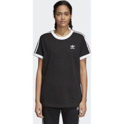 Koszulka adidas 3 stripes (CY4751). Czarne bluzki damskie Adidas, z bawełny, z krótkim rękawem. Za 89,99 zł.