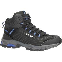 Czarne buty trekkingowe sznurowane softshell Casu A1527-2. Czerwone buty trekkingowe męskie marki Melissa, z kauczuku. Za 99,99 zł.