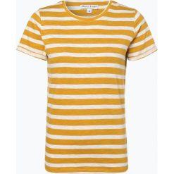 Marie Lund - T-shirt damski, żółty. Żółte t-shirty damskie Marie Lund, xl, w paski. Za 59,95 zł.