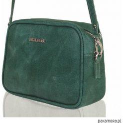 Skórzana torebka Brodrene Lund 9701-GREEN. Zielone torebki klasyczne damskie Pakamera. Za 190,00 zł.