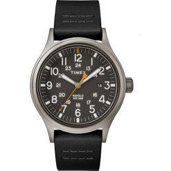 Timex - Zegarek TW2R46500. Czarne zegarki męskie marki Fossil, szklane. Za 319,90 zł.