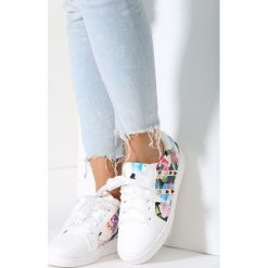 Białe Buty Sportowe Calm Flower. Brązowe buty sportowe damskie marki vices. Za 69,99 zł.