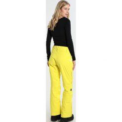 Bryczesy damskie: Zimtstern ZLENDER Spodnie narciarskie yellow
