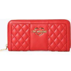 Love Moschino - Portfel damski, czerwony. Czerwone portfele damskie marki Love Moschino. Za 349,95 zł.