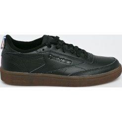 Reebok Classic - Buty Club C. Czarne buty sportowe damskie reebok classic Reebok Classic, z materiału. W wyprzedaży za 329,90 zł.