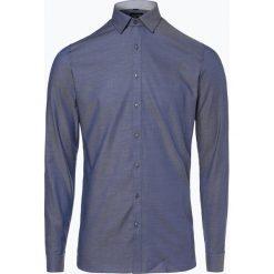 OLYMP No. Six - Koszula męska łatwa w prasowaniu – Extralange Ärmel, niebieski. Niebieskie koszule męskie na spinki marki OLYMP No. Six, m, w kolorowe wzory. Za 199,95 zł.