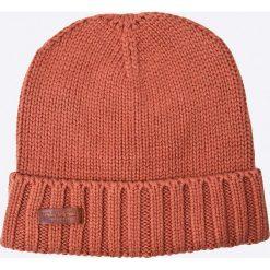 Pepe Jeans - Czapka New Ural. Różowe czapki zimowe męskie Pepe Jeans, na zimę, z bawełny. W wyprzedaży za 69,90 zł.