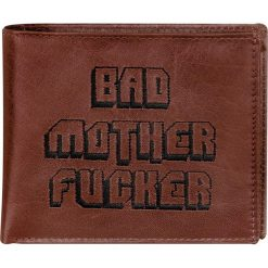 Portfele męskie: Pulp Fiction Bad Mother Fucker Portfel skórzany standard