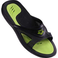 Sandały męskie: Arena Hydrofit mężczyźni hak sandały – czarny / czarny / green_41