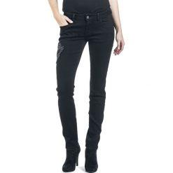 Black Premium by EMP Skarlett Spodnie damskie czarny. Czarne rurki damskie marki Black Premium by EMP, xl, z poliesteru. Za 79,90 zł.