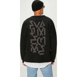 Answear - Bluza Manifest Your Style Full Time Crime. Czarne bluzy męskie rozpinane marki ANSWEAR, l, z nadrukiem, z dzianiny, bez kaptura. W wyprzedaży za 149,90 zł.