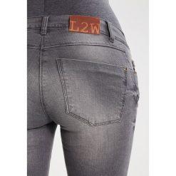 LOVE2WAIT SOPHIA Jeansy Slim Fit grey denim. Szare jeansy damskie LOVE2WAIT. Za 249,00 zł.