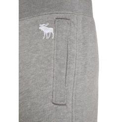 Abercrombie & Fitch HELLO MOTO Spodnie treningowe grey. Szare spodnie chłopięce Abercrombie & Fitch, z bawełny. W wyprzedaży za 135,20 zł.