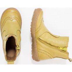 Bisgaard Botki yellow. Żółte buty zimowe damskie Bisgaard, z materiału. W wyprzedaży za 265,30 zł.