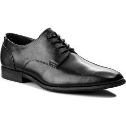 Półbuty CALVIN KLEIN BLACK LABEL - Lucca F1491  Black. Czarne buty wizytowe męskie marki Kazar. W wyprzedaży za 499,00 zł.