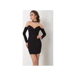 Sukienka Milano Czarna. Czarne sukienki balowe Flawdress, l, z elastanu, z gorsetem, dopasowane. Za 299,00 zł.