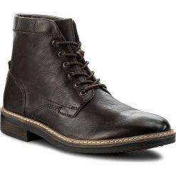 Botki męskie: Kozaki CLARKS - Blackford Hi 261281447 Dark Brown Leather