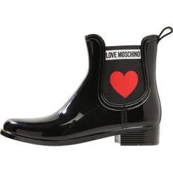 Love Moschino RAIN BOOT Kalosze nero. Szare buty zimowe damskie marki Love Moschino, z materiału. Za 469,00 zł.