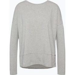 Bluzy rozpinane damskie: BOSS Casual - Damska bluza nierozpinana – Tersweat, szary