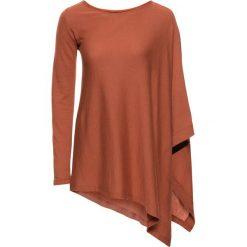 Swetry klasyczne damskie: Sweter bonprix terakota