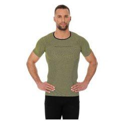 Koszulki sportowe męskie: Brubeck Koszulka męska 3D Bike PRO z krótkim rękawem zielona XL (SS11930)