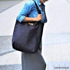 Duża torba szoperka Mili Chic MC4 - black. Czarne torebki klasyczne damskie Pakamera, duże. Za 169,00 zł.
