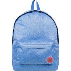 """Plecak """"Sugar Baby"""" w kolorze błękitnym - 32 x 41 x 11 cm. Niebieskie plecaki męskie Roxy, z tkaniny. W wyprzedaży za 73,95 zł."""