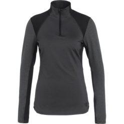 The North Face MOTIVATION ZIP Koszulka sportowa black. Czarne topy sportowe damskie marki The North Face, xs, z elastanu. W wyprzedaży za 149,50 zł.