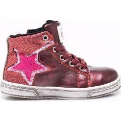 Big Star - Trampki dziecięce. Różowe buty sportowe dziewczęce BIG STAR, z materiału, na sznurówki. W wyprzedaży za 99,90 zł.