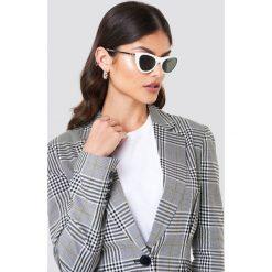 Le Specs Okulary przeciwsłoneczne Enchantress - White. Szare okulary przeciwsłoneczne damskie lenonki marki ORAO. Za 242,95 zł.