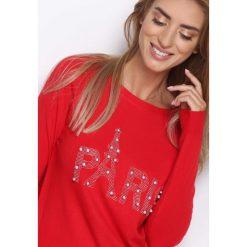 Czerwona Tunika Long Way. Czerwone tuniki damskie z długim rękawem marki bonprix. Za 49,99 zł.