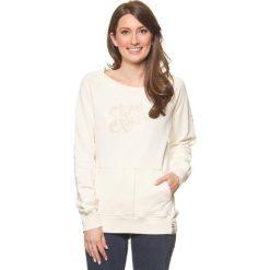 "Swetry oversize damskie: Sweter ""Heartbreak"" w kolorze kremowym"