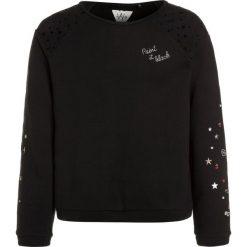 IKKS STAR DUST Bluza noir. Czarne bluzy chłopięce marki IKKS, z bawełny. W wyprzedaży za 231,20 zł.