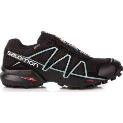 Buty trekkingowe damskie: Salomon Buty damskie Speedcross 4 GTX W Black/Black/Metallic r. 41 1/3 (383187)