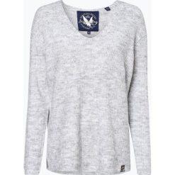Superdry - Sweter damski, szary. Szare swetry klasyczne damskie Superdry, l, z dzianiny. Za 299,95 zł.