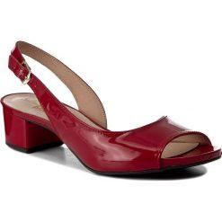 Rzymianki damskie: Sandały OLEKSY – 327/207 Czerwony