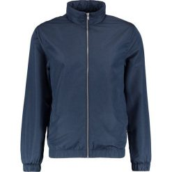 Kurtki męskie bomber: Burton Menswear London FUNNEL NECK LIGHT WEIGHT Kurtka wiosenna navy