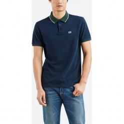 """Koszulka polo """"Breaker Logo"""" w kolorze granatowym. Niebieskie koszulki polo marki Levi's®, m, z haftami, z bawełny. W wyprzedaży za 86,95 zł."""