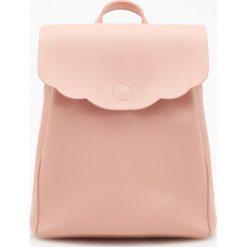 Plecak - Różowy. Czerwone plecaki damskie Reserved. W wyprzedaży za 49,99 zł.