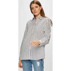 Tommy Jeans - Koszula. Szare koszule jeansowe damskie Tommy Jeans, m, w paski, casualowe, z klasycznym kołnierzykiem, z długim rękawem. Za 359,90 zł.