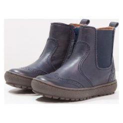 Bisgaard Botki blue. Niebieskie buty zimowe damskie Bisgaard, z materiału. W wyprzedaży za 259,35 zł.