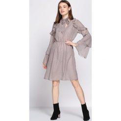 Sukienki: Khaki Sukienka Coherence