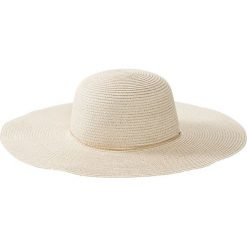 Kapelusz słomkowy bonprix naturalno-złoty kolor. Brązowe kapelusze damskie bonprix, na lato. Za 59,99 zł.